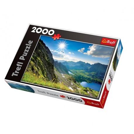 Trefl - 27047 - Puzzle 2000 - Dolina Pięciu Stawów