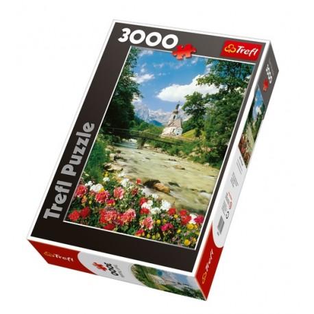Trefl - 33019 - Puzzle 3000 - Ramsau - Alpy Bawarskie, Niemcy