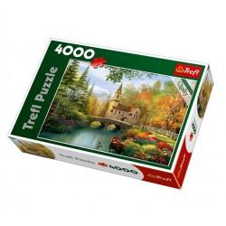 Trefl - 45000 - Puzzle 4000 - Jesienna Nostalgia