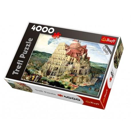 Trefl - 45001 - Puzzle 4000 - Wieża Babel