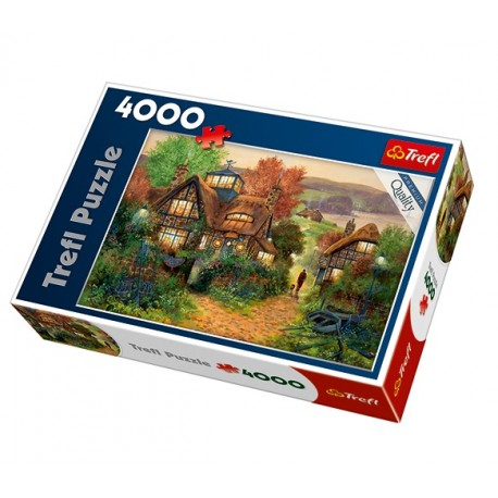 Trefl - 45002 - Puzzle 4000 - Marynarska Przystań