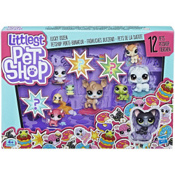 HASBRO Littlest Pet Shop Zestaw 12 Figurek E3034