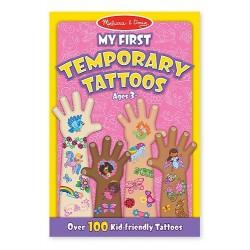 Melissa & Doug - 12946 - Tatuaże - Zestaw 100 Tatuaży - Różowy