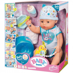 ZAPF CREATION Lalka Baby Born Soft Touch Chłopiec 824375