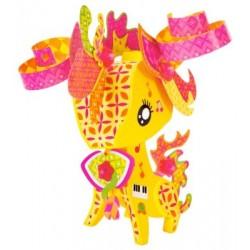 Mattel - BLV35 - AmiGami - Zwierzątka do Dekoracji - Żyrafka