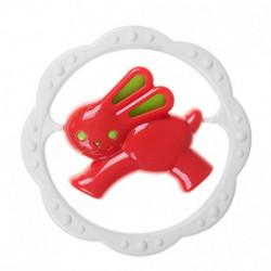TULLO Grzechotka Zielono-Czerwony ZAJĄCZEK 002
