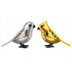 Silverlit - 88408 - DigiBirds - Śpiewające Ptaszki - Kolekcja Limitowana - Srebrny / Złoty
