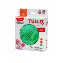 TULLO Zabawka Sensoryczna Piłka w Kolorze Zielonym 4 Faktury 463
