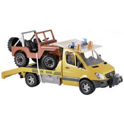 BRUDER POMOC DROGOWA Ciężarówka MERCEDES BENZ SPRINTER 02535