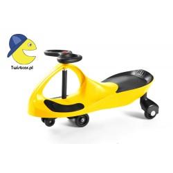 TwistCar - Jeździk Twistcar - Żółty