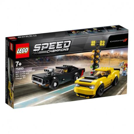 LEGO SPEED CHAMPIONS 75893 2018 Dodge & 1970 Dodge