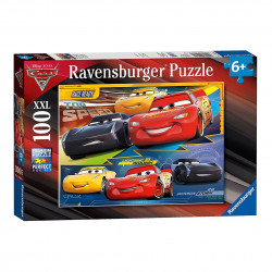 RAVENSBURGER Puzzle 100 elementów Cars 3 ZAWROTNA PRĘDKOŚĆ 109616
