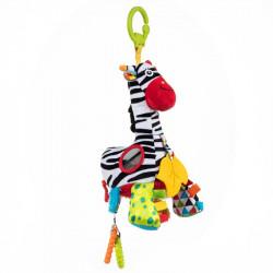 DUMEL BaliBaZoo Zawieszka Zebra Zoya z Pozytywką 84810