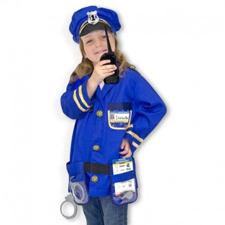 Melissa & Doug - 14835 - Strój Policjanta - Kostium Policjanta
