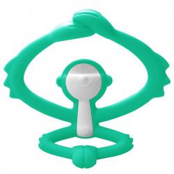 MOMBELLA Gryzak Silikonowy Zielona Małpka P8081-1
