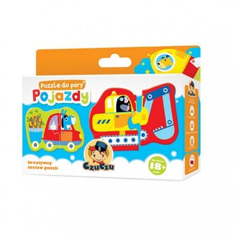 CzuCzu - 5730989 - Puzzle Do Pary 12 - Pojazdy