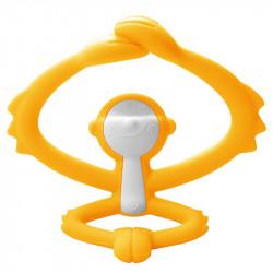 MOMBELLA Gryzak Silikonowy Żółta Małpka P8081-3