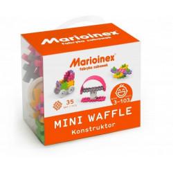 MARIOINEX Klocki Mini Wafle Zestaw Konstruktora dla Dziewczynek 35El. 2790