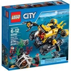 LEGO CITY 60092 Podwodny Świat - Łódź Głębinowa NOWOŚĆ 2015