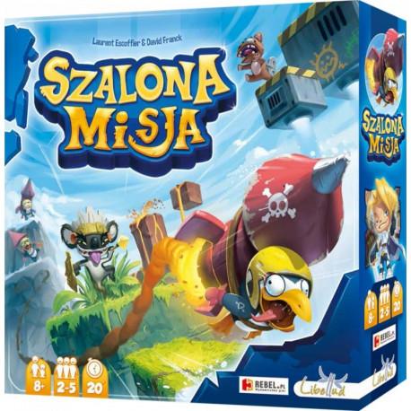 REBEL Gra Towarzyska SZALONA MISJA 5726