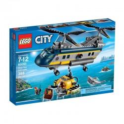 LEGO CITY 60093 Podwodny Świat - Helikopter Badaczy NOWOŚĆ 2015