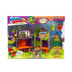 Magic Box Toys SUPER ZINGS Atak na Tajne Laboratorium 7303
