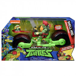 Playmates Wojownicze Żółwie Ninja Motocykl Shell Hog RAPHAEL 71983