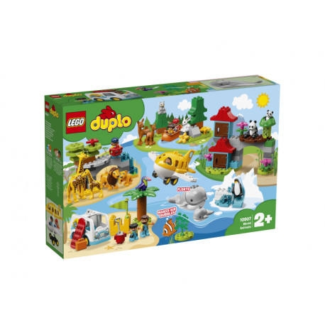 LEGO DUPLO 10907 ZWIERZĘTA ŚWIATA