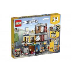 LEGO CREATOR 31097 Sklep Zoologiczny i Kawiarenka