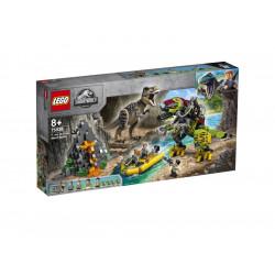 LEGO JURASSIC WORLD 75938 Tyranozaur kontra Mechaniczny Dinozaur