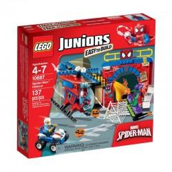 LEGO JUNIORS 10687 Kryjówka Spider-Mana NOWOŚĆ 2015