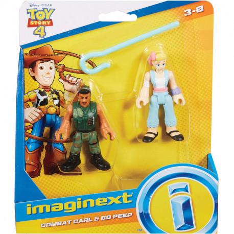 Toy Story 4 Figurki Combat Carl i Bo Peep GFD13