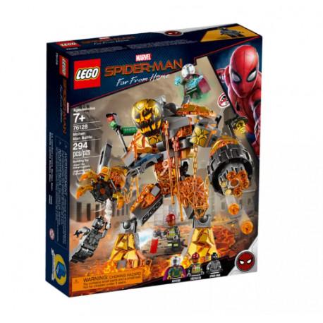 LEGO SUPER HEROES 76128 Spider-Man Bitwa z Molten Manem