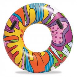 BESTWAY Kolorowe Koło do Pływania z Uchwytami 36125