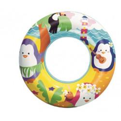 BESTWAY Zabawka Nadmuchiwana do Wody KOŁO Pingwiny 36113