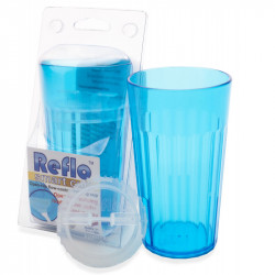 Reflo Smart Cup Kubek Treningowy z Wkładką NIEBIESKI 0022