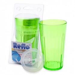 Reflo Smart Cup Kubek Treningowy z Wkładką ZIELONY 0039