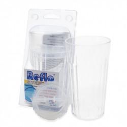 Reflo Smart Cup Kubek Treningowy z Wkładką TRANSPARENTNY 0046