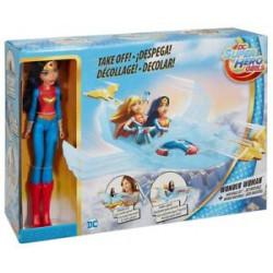 Mattel DC Super Hero Girls Superbohaterki WONDER WOMAN Niewidzialny Odrzutowiec DYN05