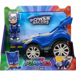 PIDŻAMERSI Power Racers Pojazd z Figurką CATBOY i Pojazd 95386