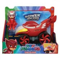 PIDŻAMERSI Power Racers Pojazd z Figurką SOWELLA 95387