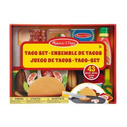 Melissa & Doug Zestaw do Gotowania Kuchnia Meksykańska Tortilla Taco Salsa 19370