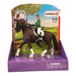 SCHLEICH Figurki Zwierząt Jeździec z Koniem 42358