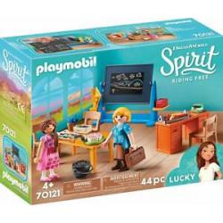 PLAYMOBIL Spirit 70121 Sala Lekcyjna Panny Flores