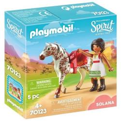 PLAYMOBIL Spirit 70123 Solana przy Woltyżerce