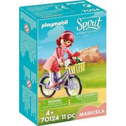 PLAYMOBIL Spirit 70124 Maricela z Rowerem