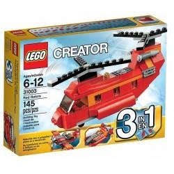 LEGO CREATOR 31003 Czerwony Śmigłowiec