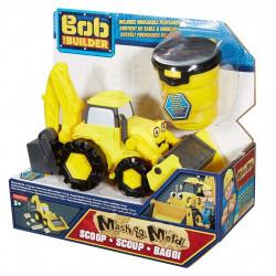 Fisher-Price Bob Budowniczy PIASEK KINETYCZNY Żółta Koparka Scoop DMM52