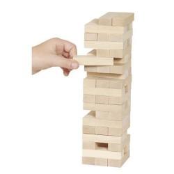 Goki - HS530 - Gra Zręcznościowa - Jenga - Drewniana Wieża