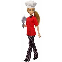 MATTEL Lalka Barbie You Can Be Anything LALKA SZEFOWA KUCHNI FXN99